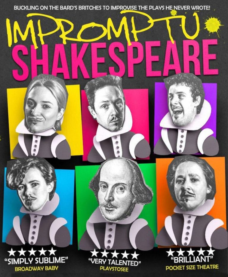 Impromptu Shakespeare flyer